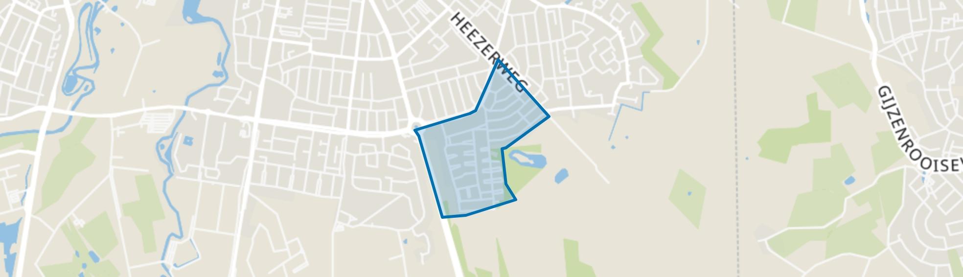 Schuttersbosch, Eindhoven map