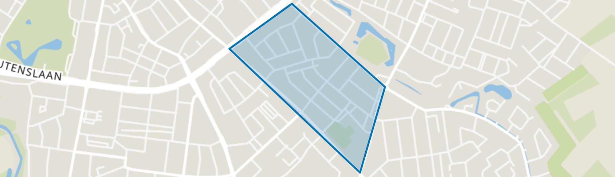 Sintenbuurt, Eindhoven map