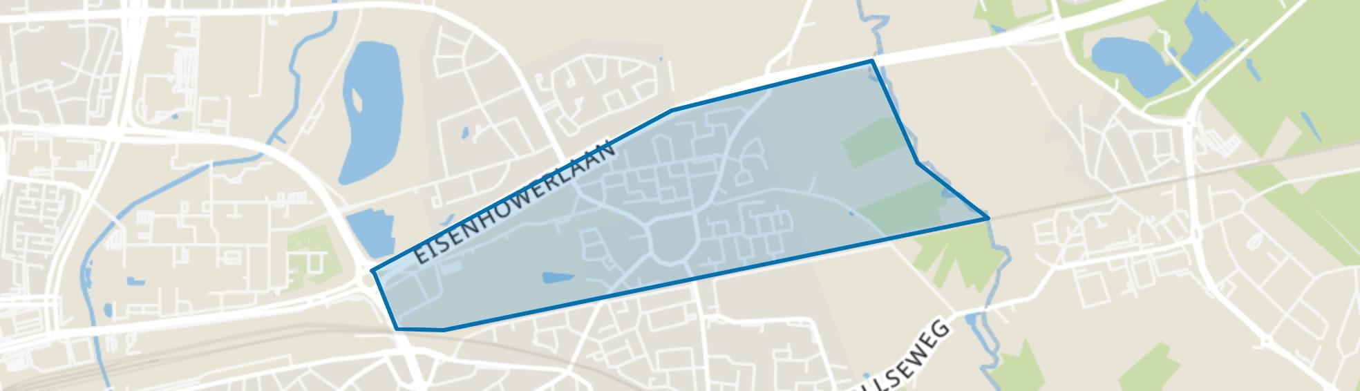 't Hofke, Eindhoven map