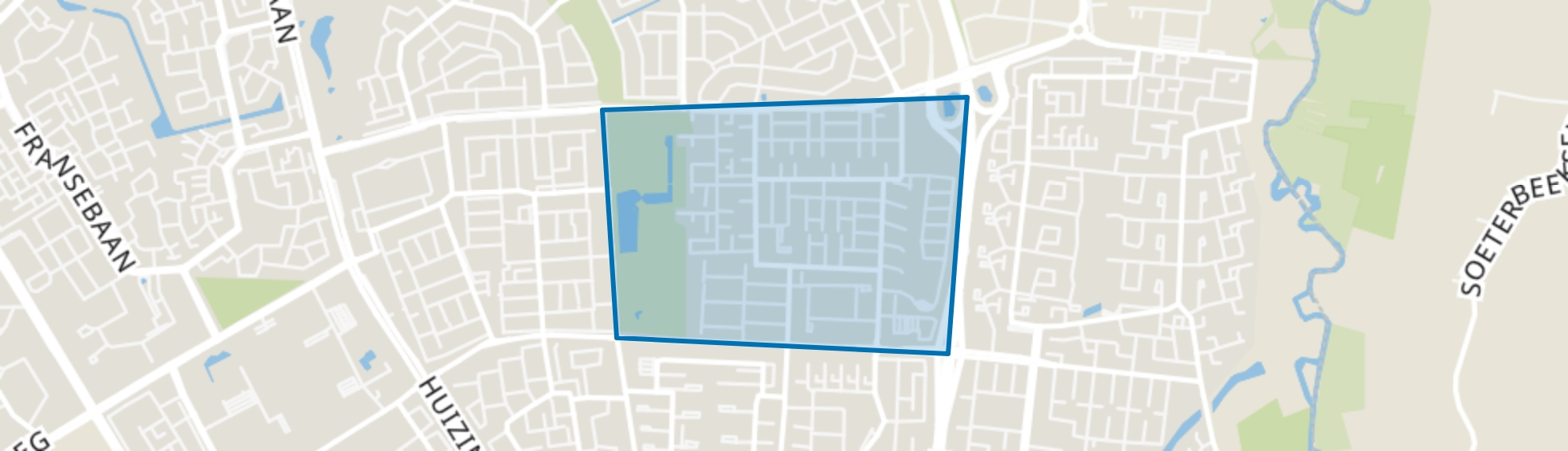Tempel, Eindhoven map