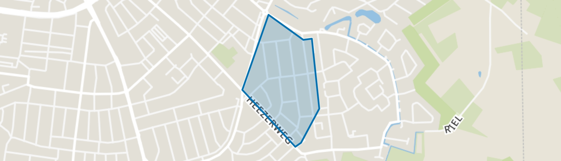 Tivoli, Eindhoven map