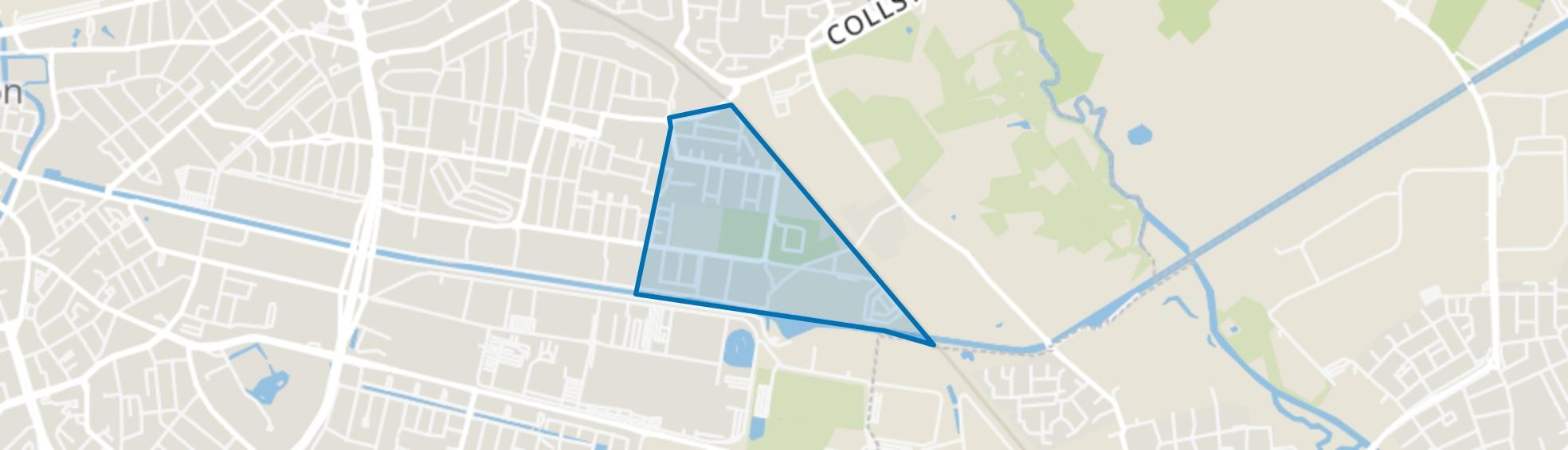Tongelresche Akkers, Eindhoven map