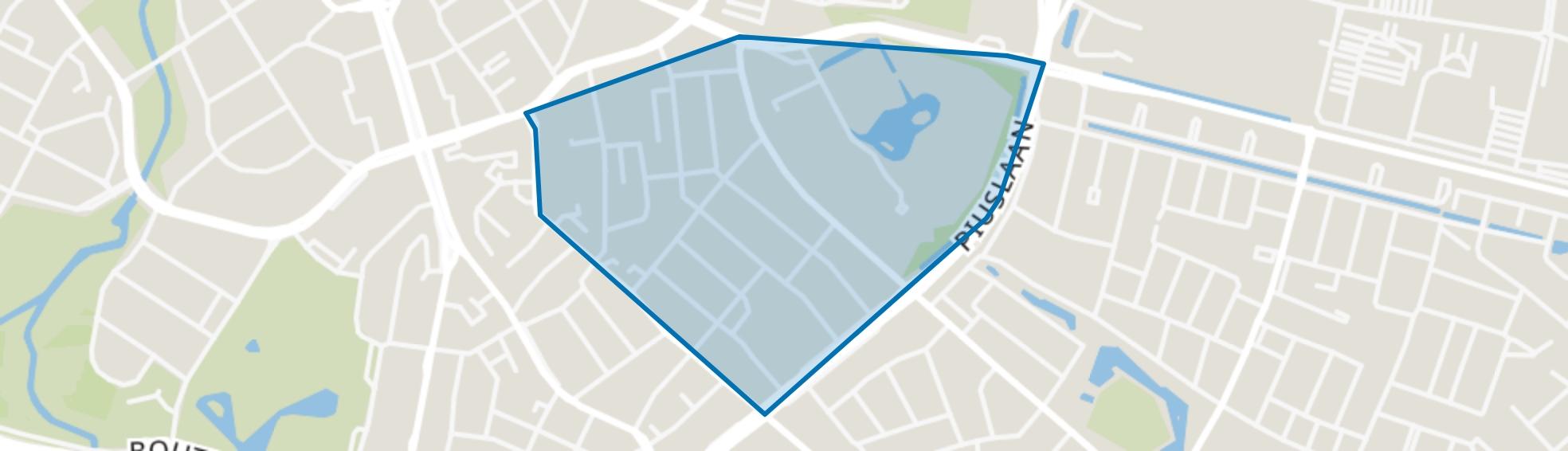 Tuindorp, Eindhoven map
