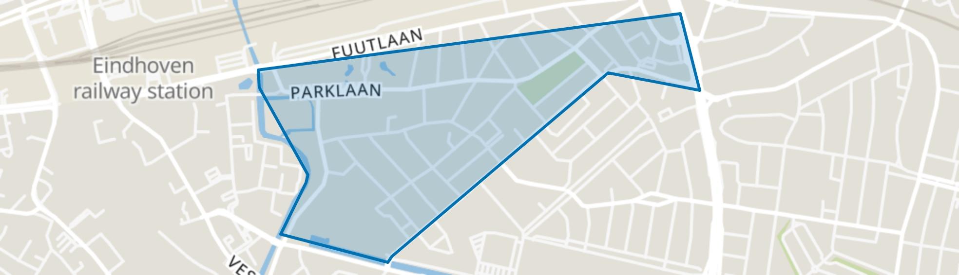 Villapark, Eindhoven map