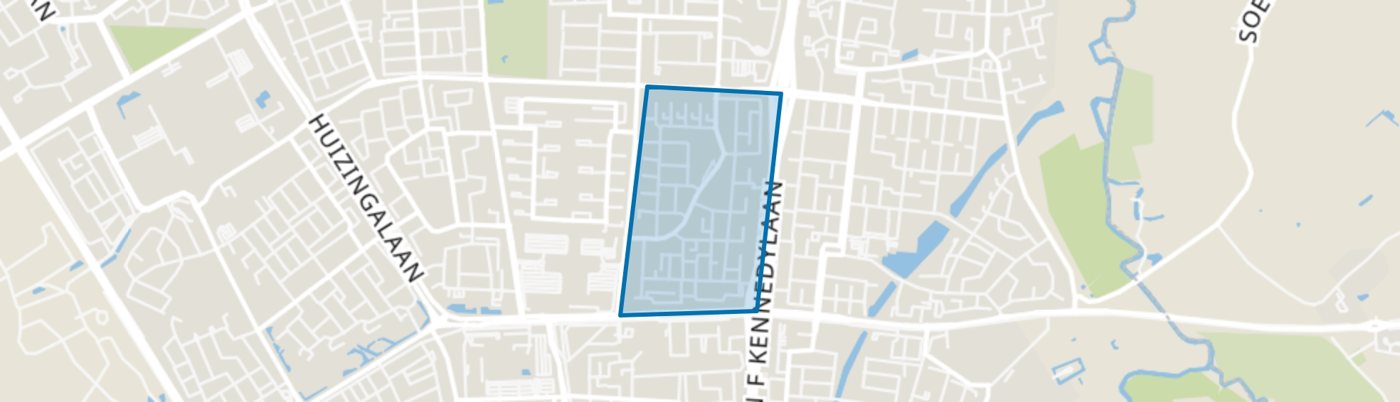 Vlokhoven, Eindhoven map