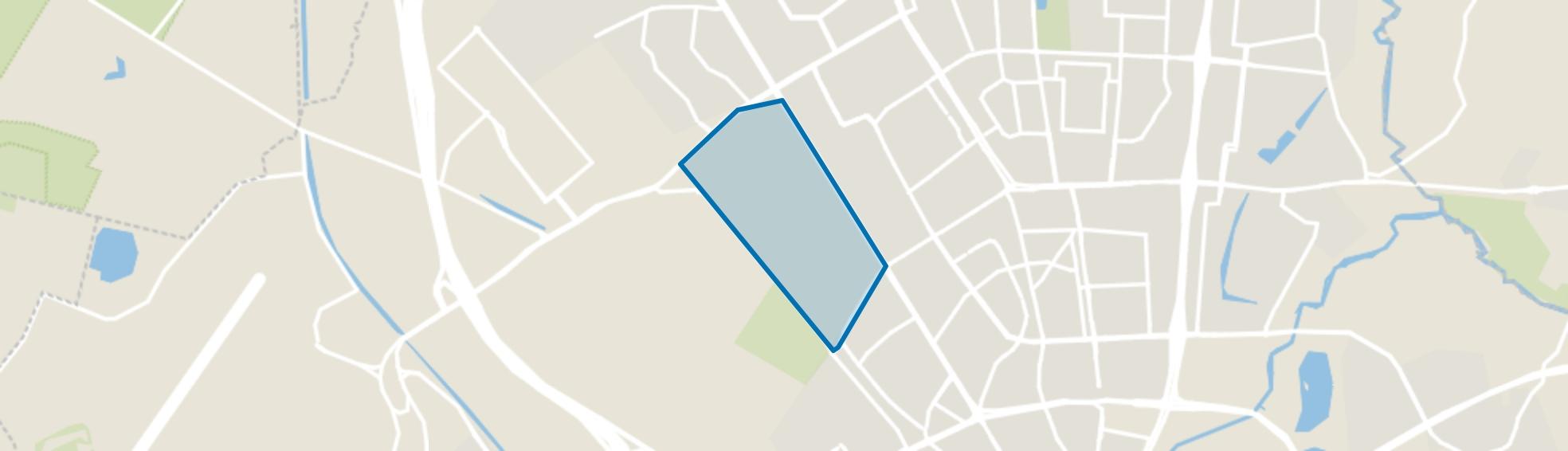 Vredeoord, Eindhoven map
