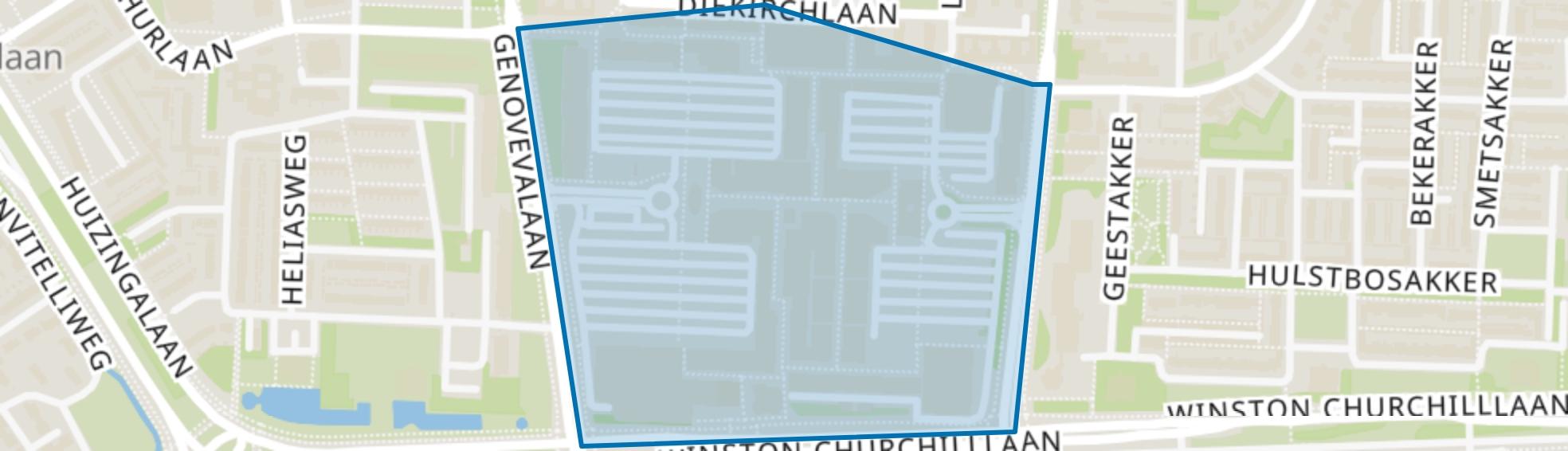 Winkelcentrum, Eindhoven map