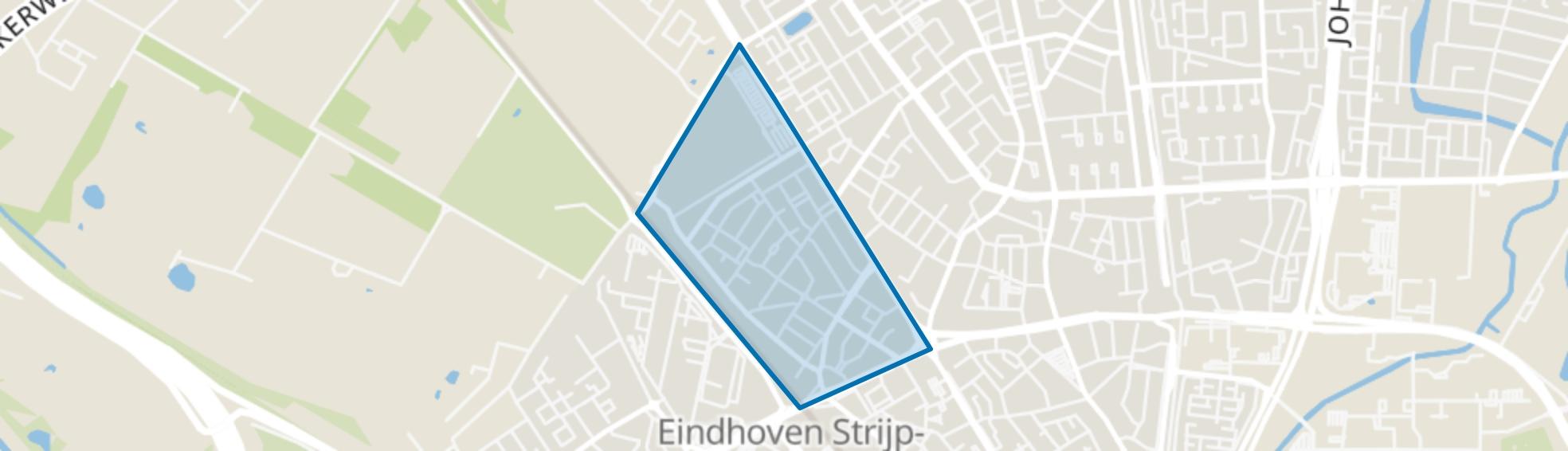 Woensel-West, Eindhoven map