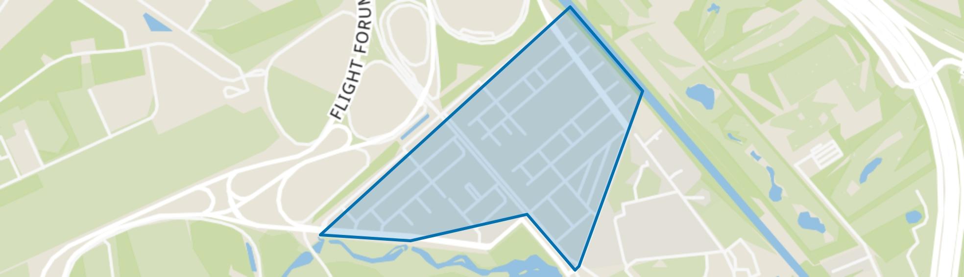 Zandrijk, Eindhoven map