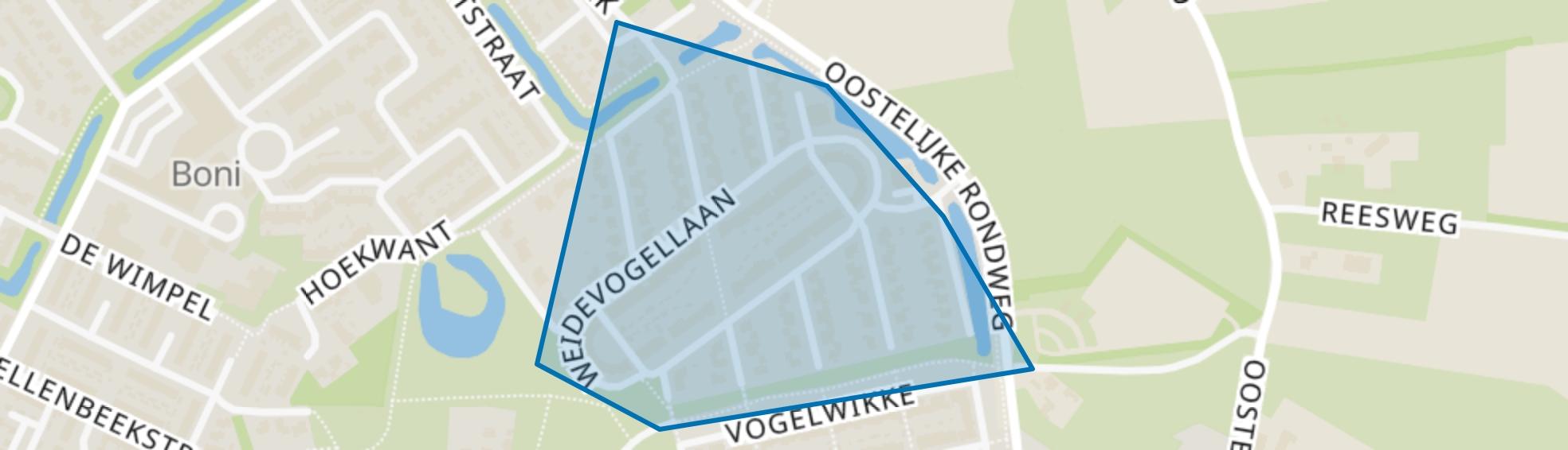 Achterweg, Elburg map