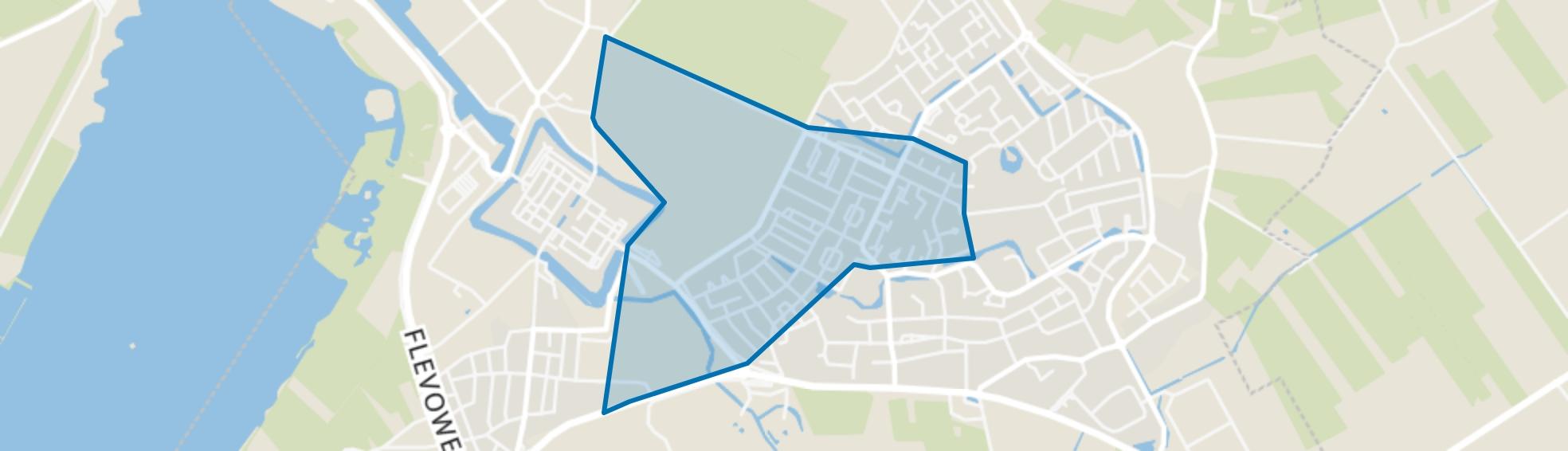 Elburg-Oosthoek, Elburg map