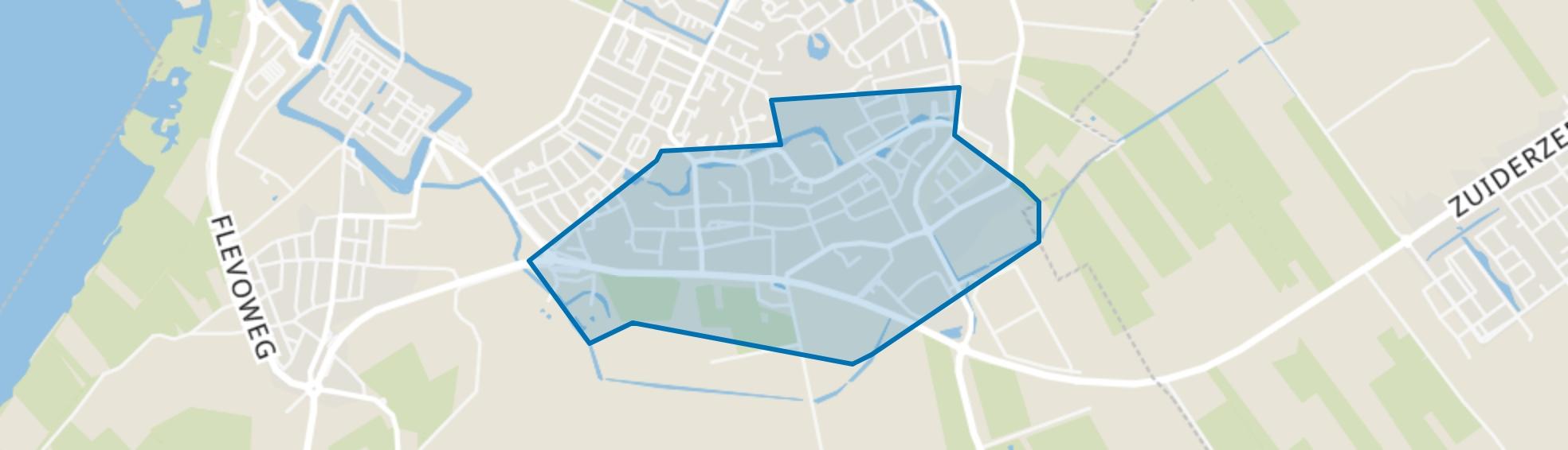 Oostendorp, Elburg map