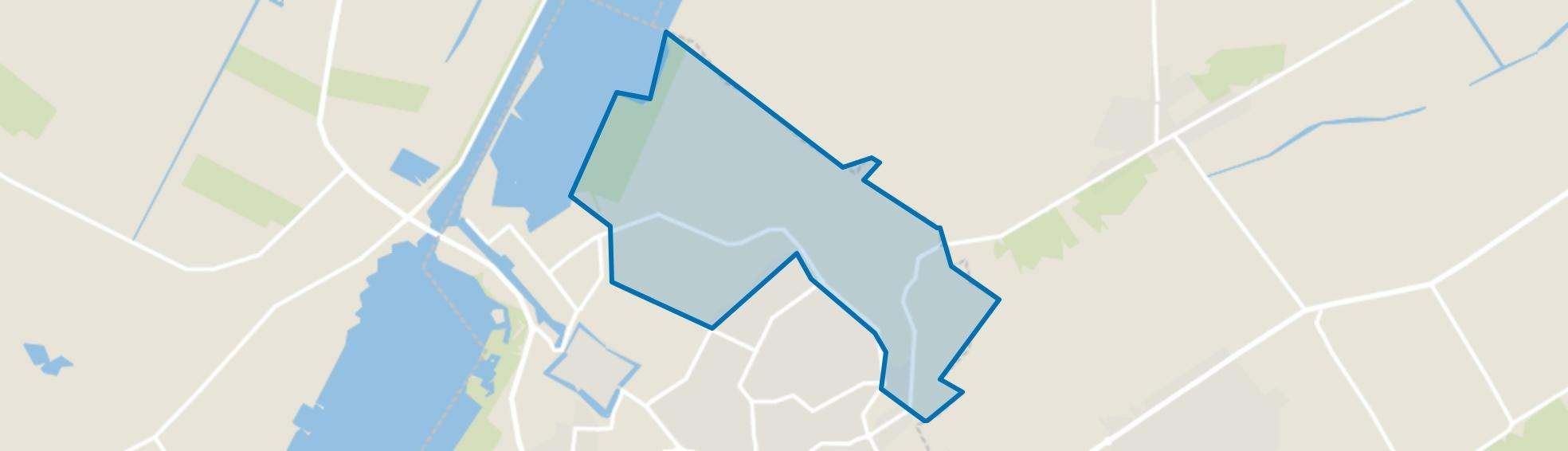Verspreide huizen Elburg-Noord, Elburg map