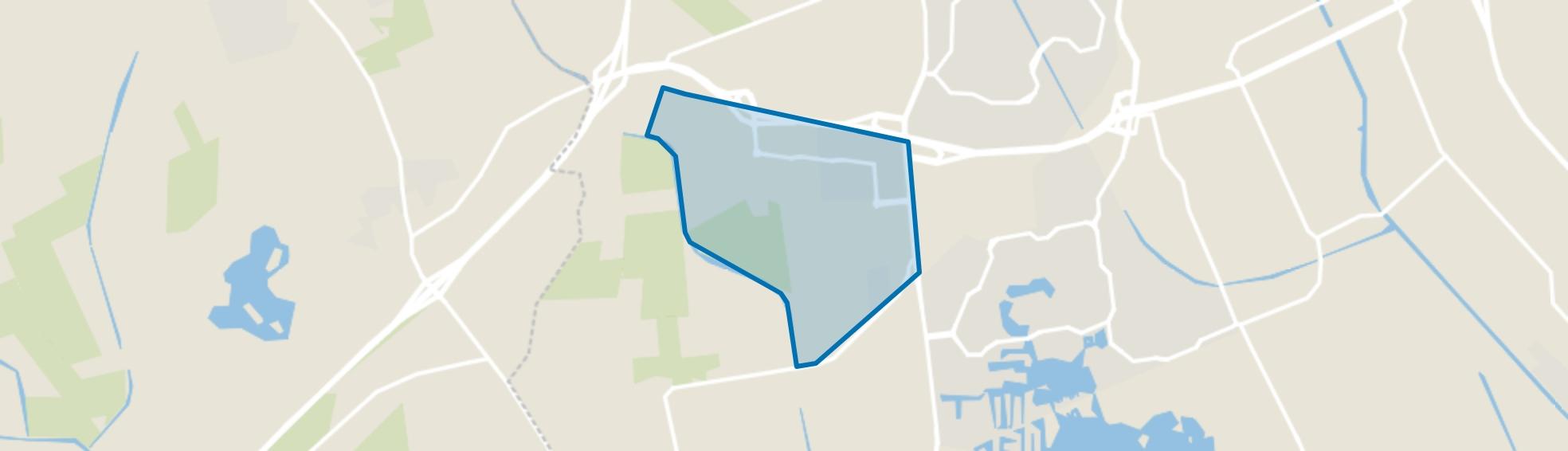 Delftlanden, Emmen map