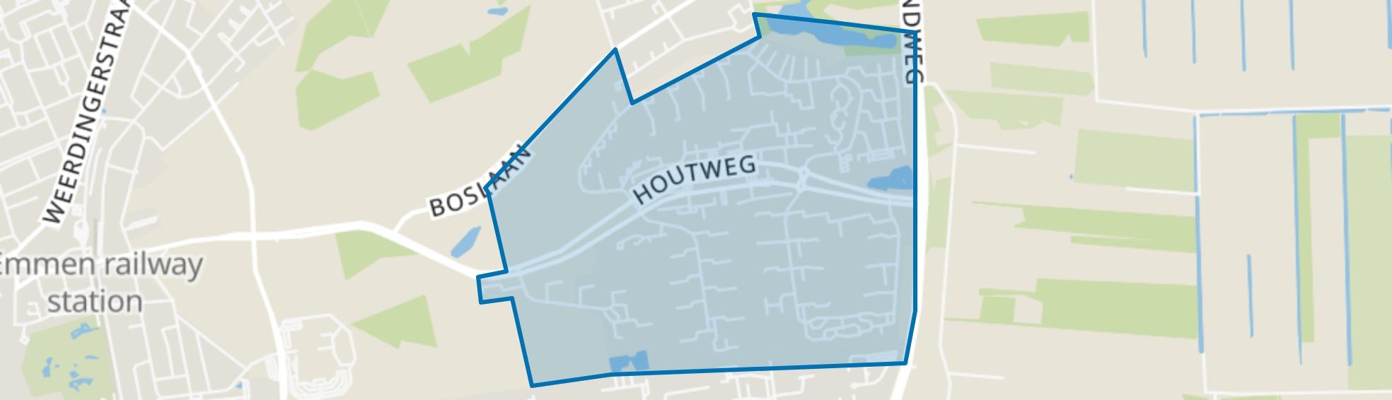 Emmerhout, Emmen map