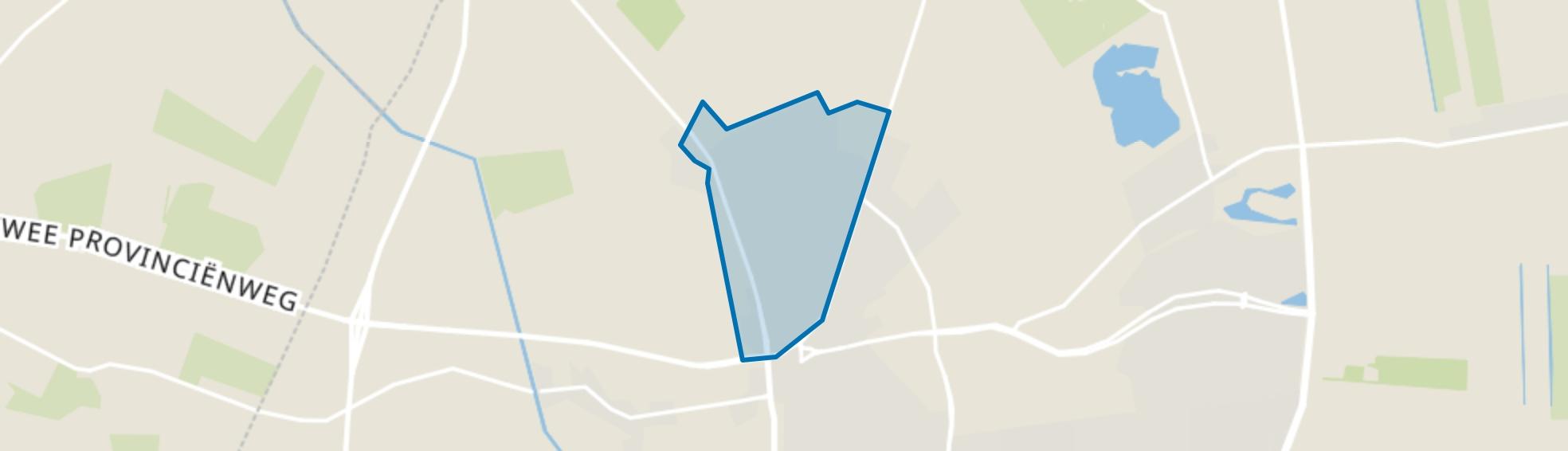 Emmermeer, Emmen map