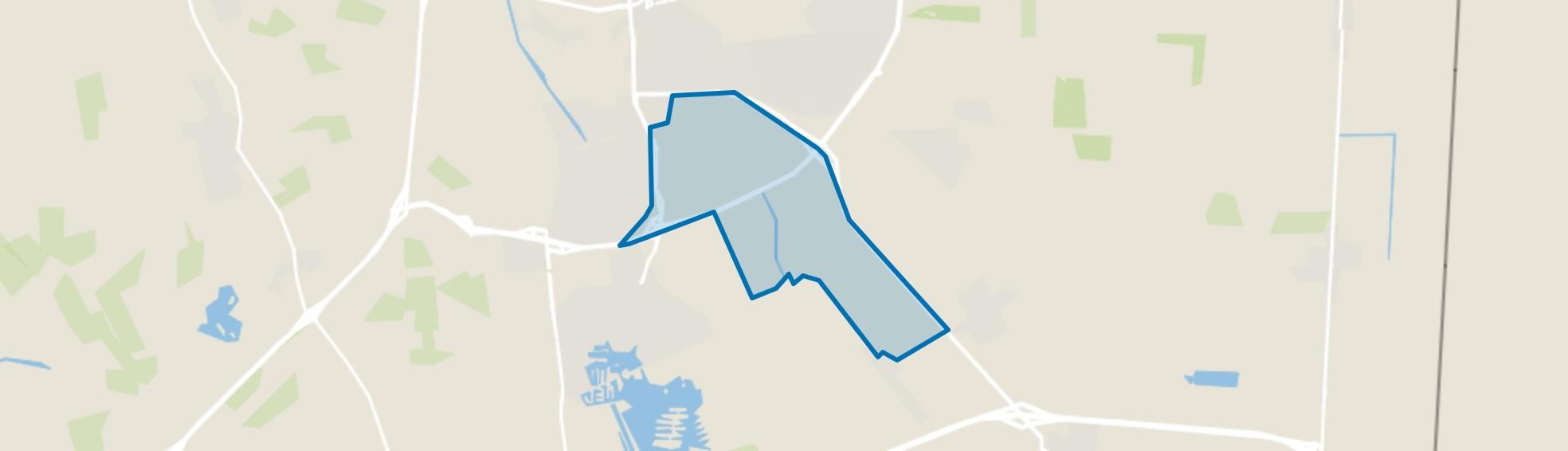 Industrieterrein Bargermeer, Emmen map