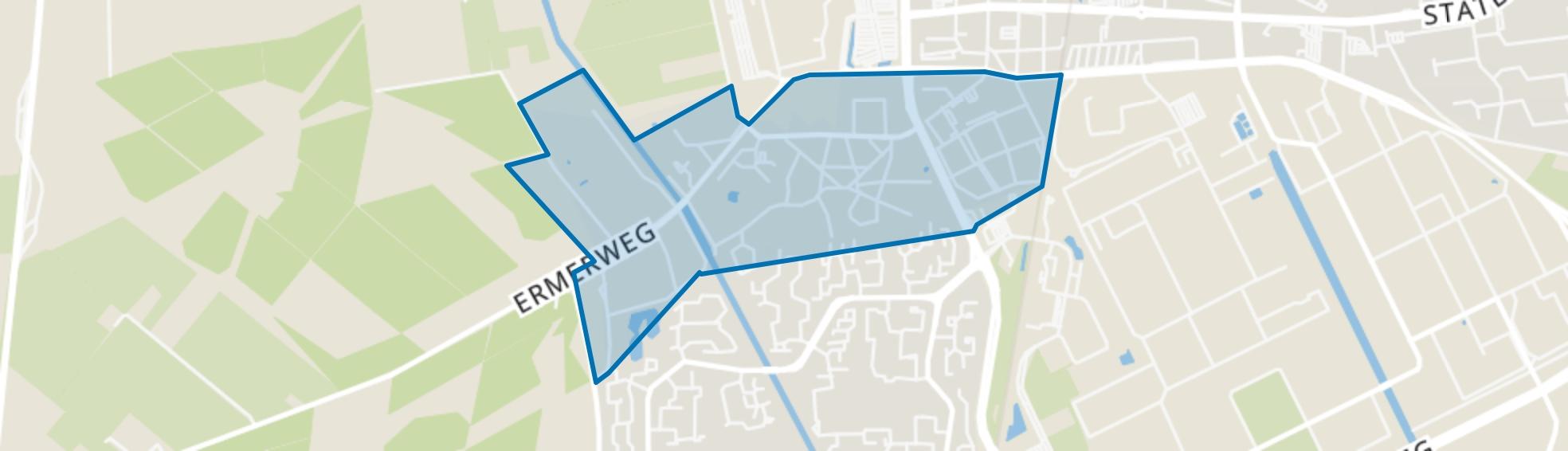 Noordbarge, Emmen map