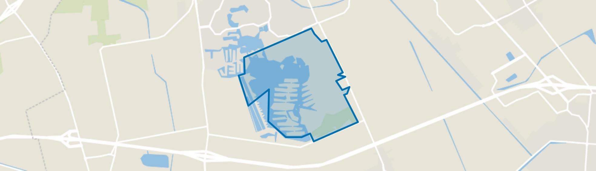 Parc Sandur, Emmen map