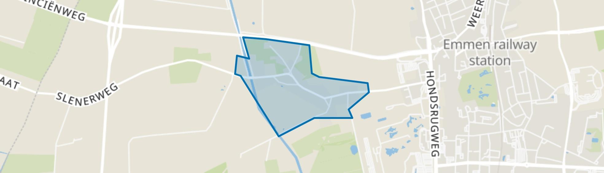 Westenesch, Emmen map