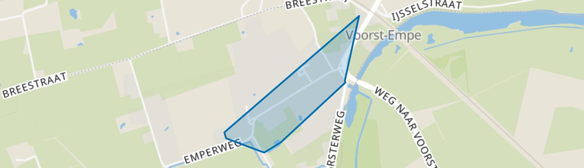 Empe Kern, Empe map