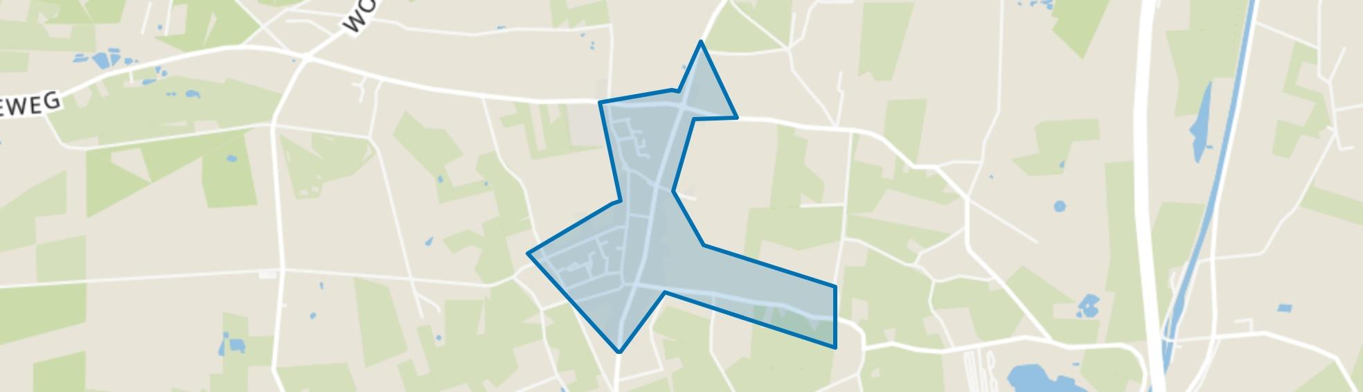Kern Emst, Emst map
