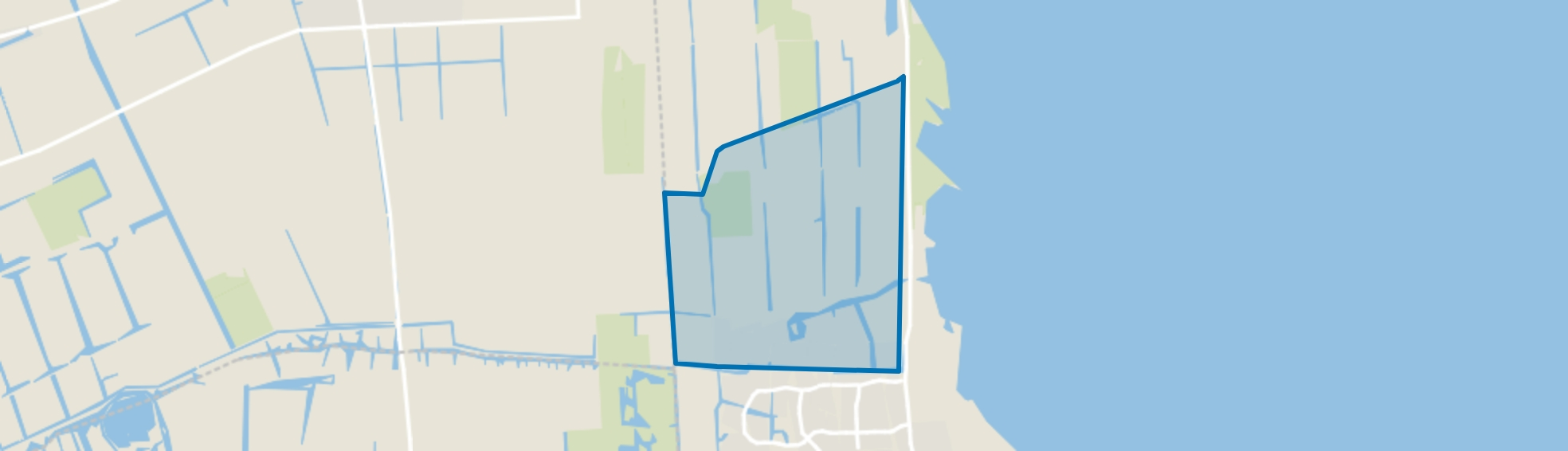 Kadijken, Enkhuizen map