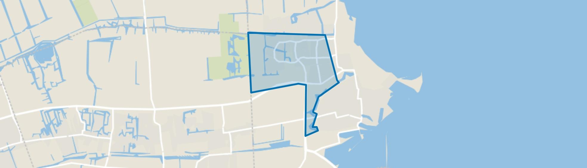 Oude Gouw-Gommerwijk, Enkhuizen map