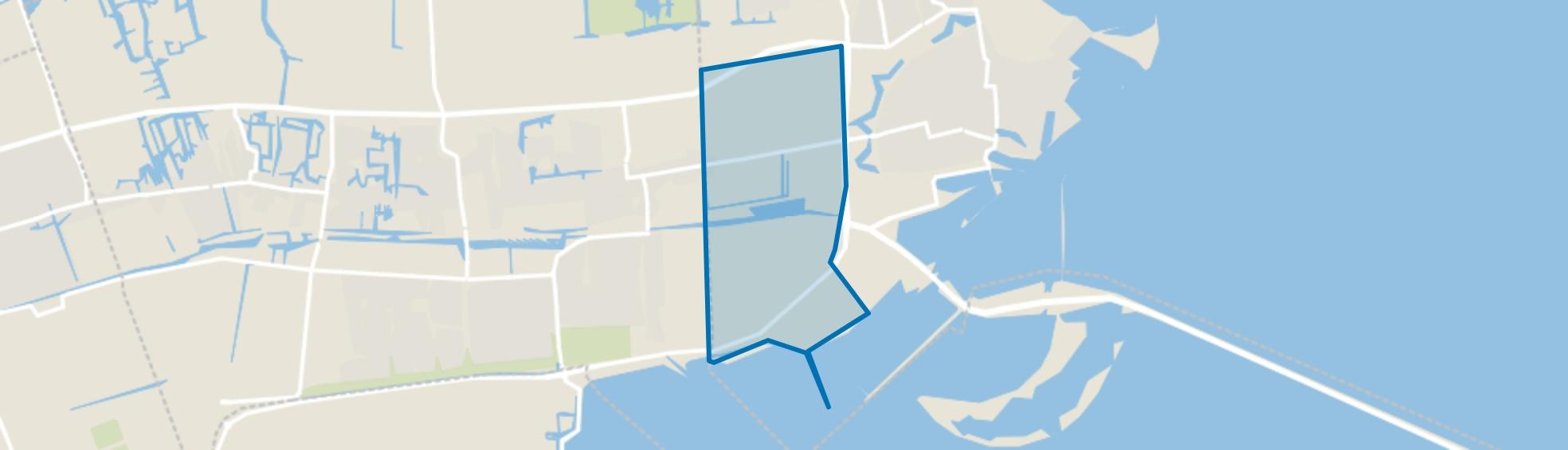 Westeinde, Enkhuizen map