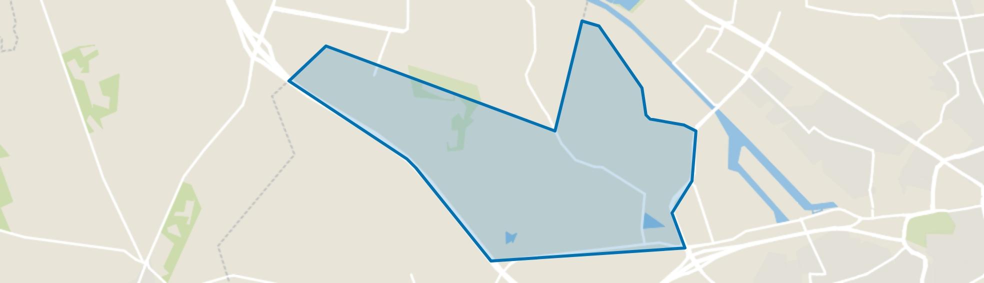 Buurtschap Twekkelo, Enschede map