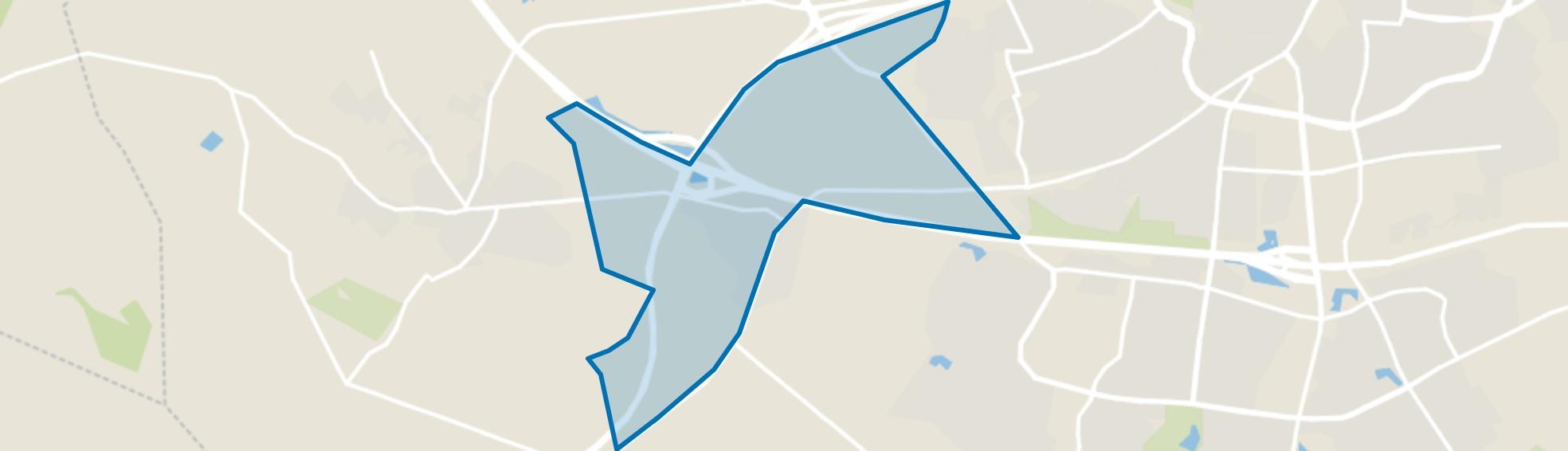 Buurtschap Usselo, Enschede map