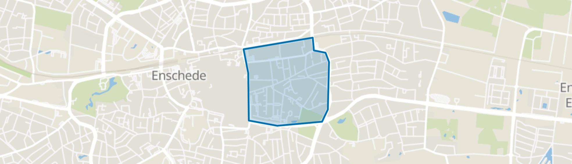 De Bothoven, Enschede map