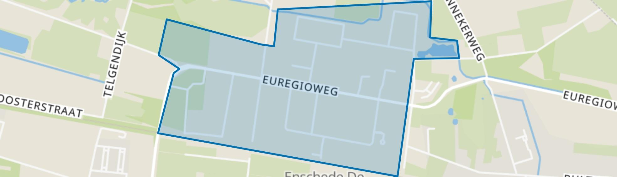 De Slank, Enschede map