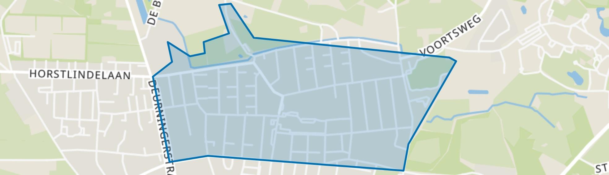Deppenbroek, Enschede map