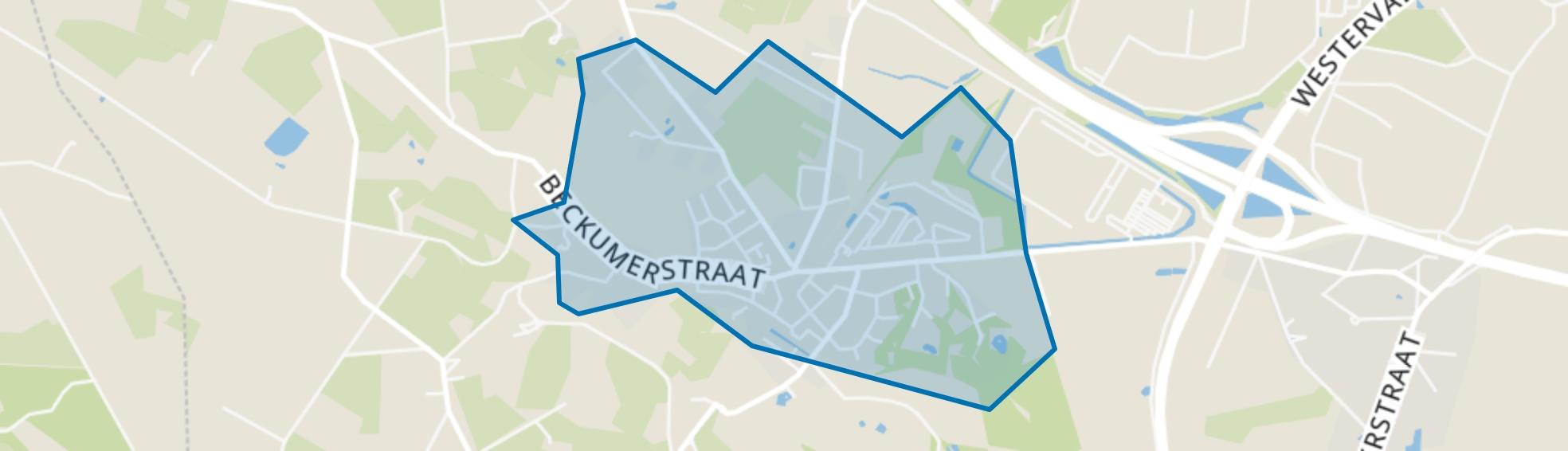 Dorp Boekelo, Enschede map