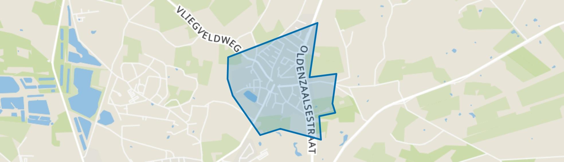 Dorp Lonneker, Enschede map