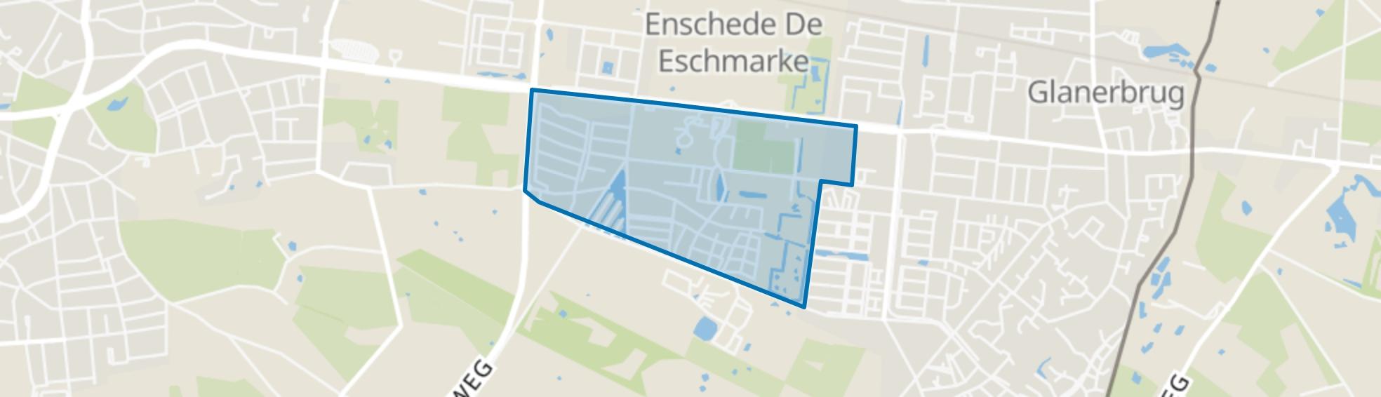 Eekmaat West, Enschede map