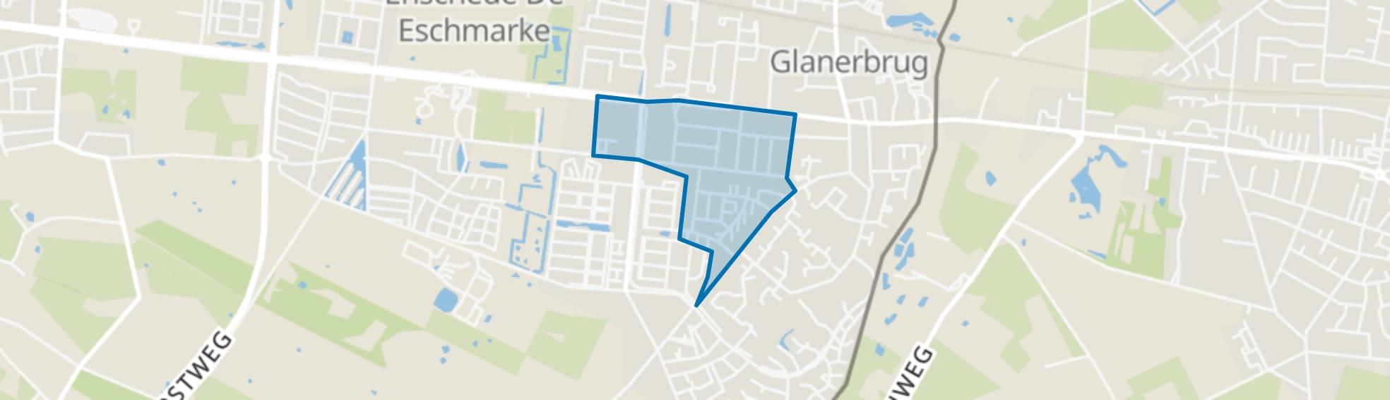 Eekmaat, Enschede map