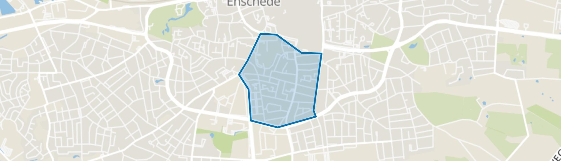 Getfert, Enschede map