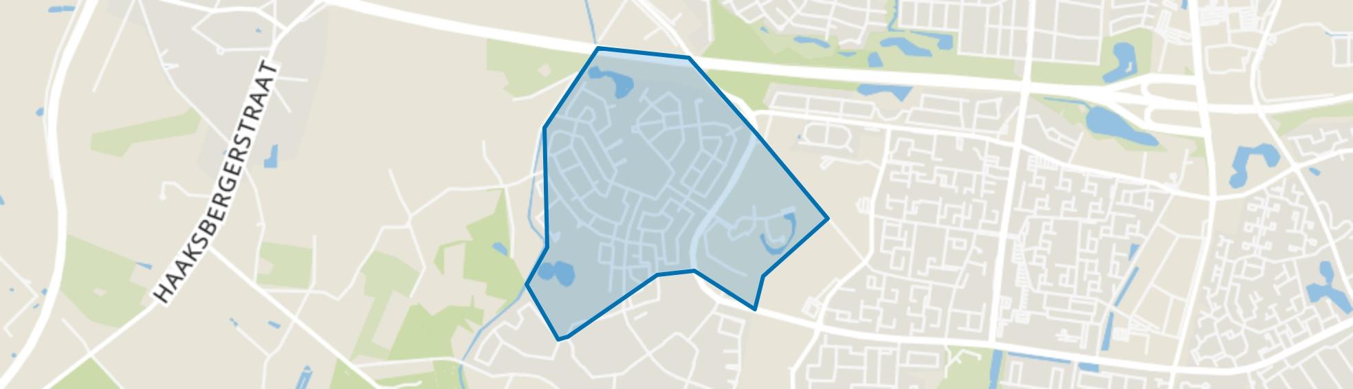 Helmerhoek-Noord, Enschede map