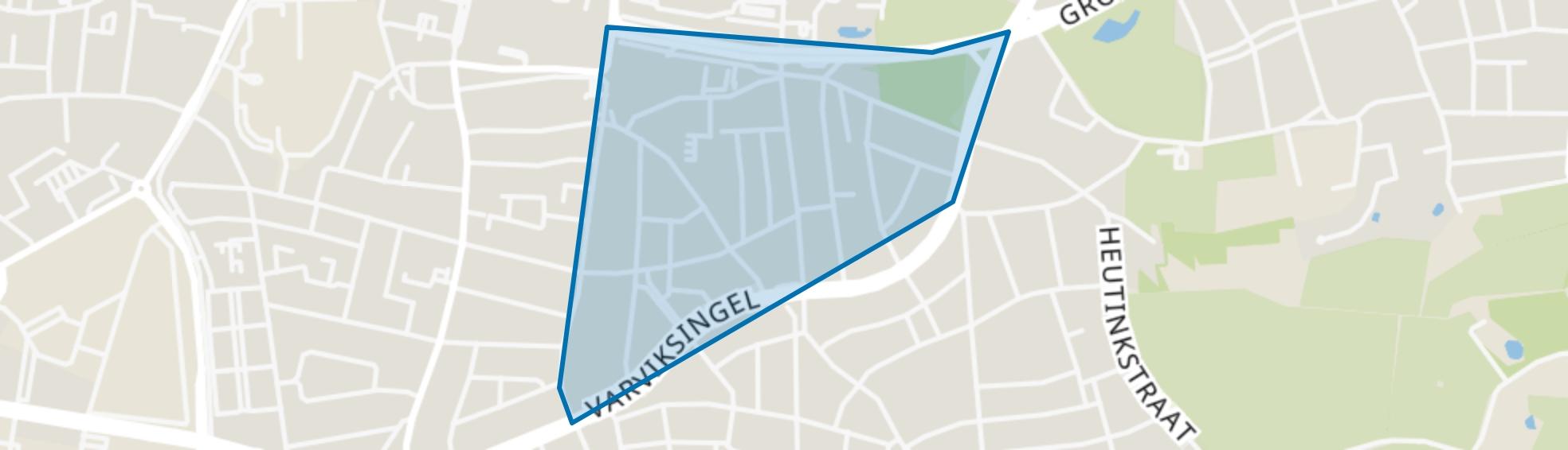 Hogeland-Noord, Enschede map