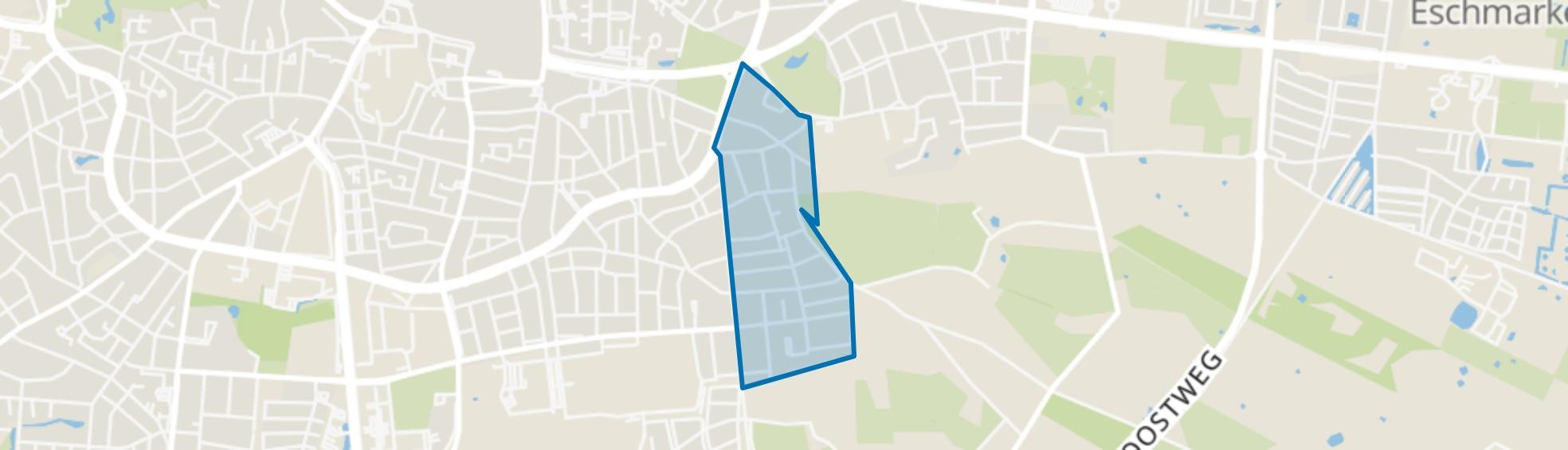 Hogeland-Zuid, Enschede map