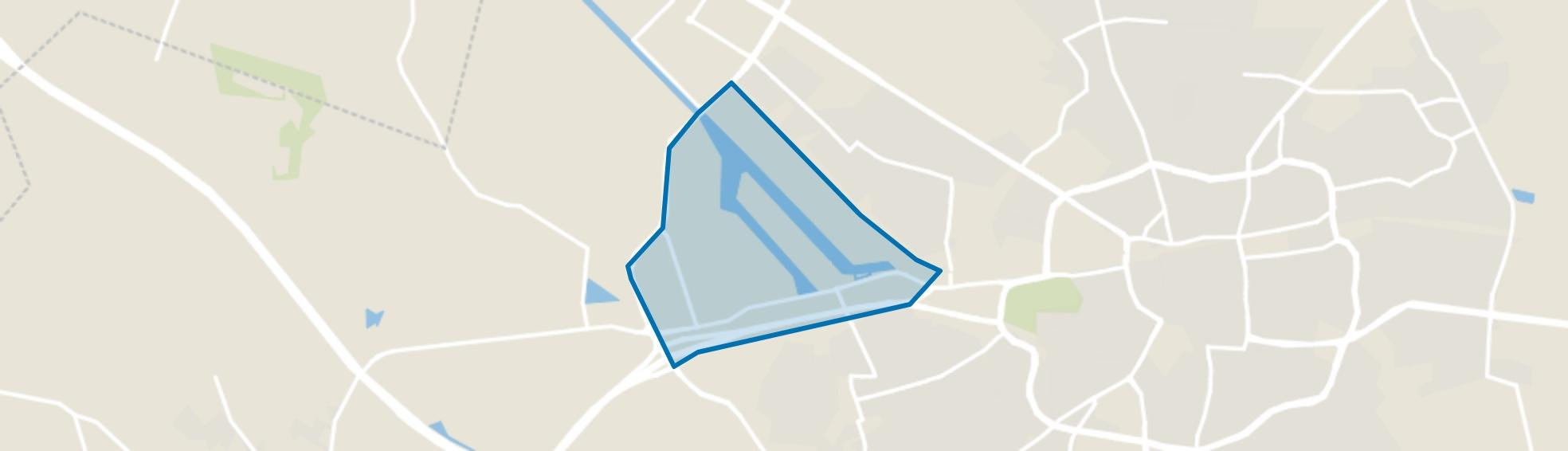 Industrie- en havengebied, Enschede map