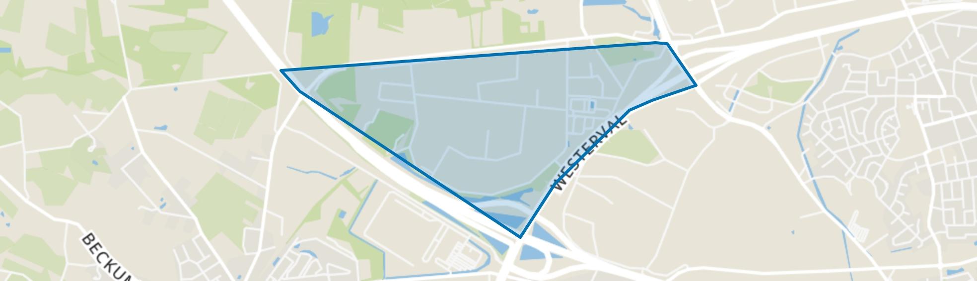 Marssteden, Enschede map