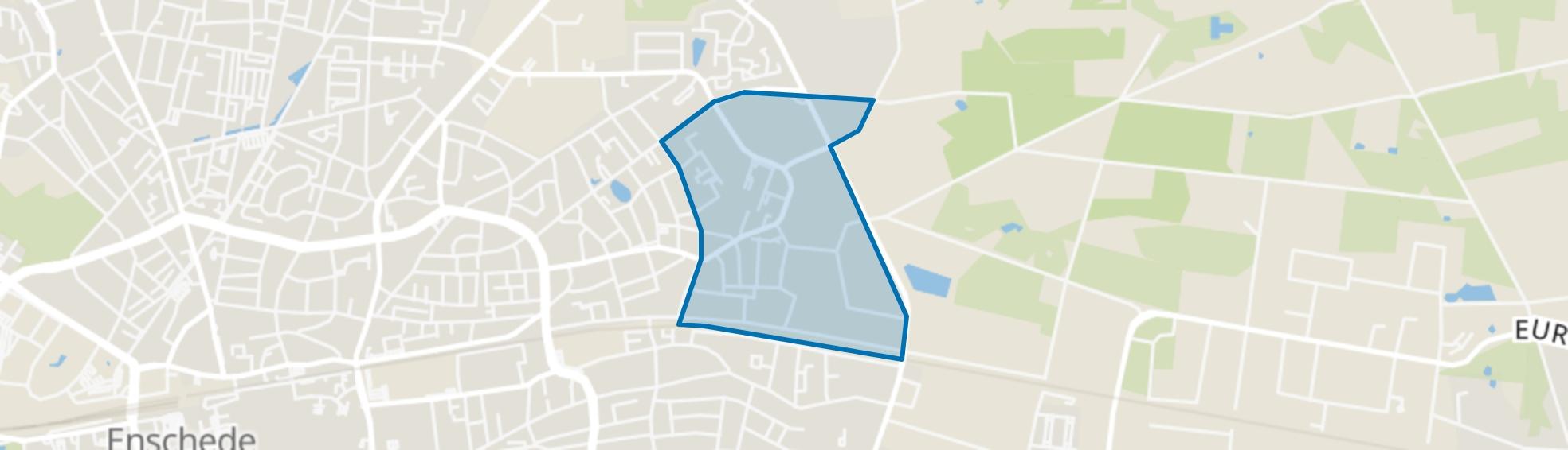Park Stokhorst, Enschede map