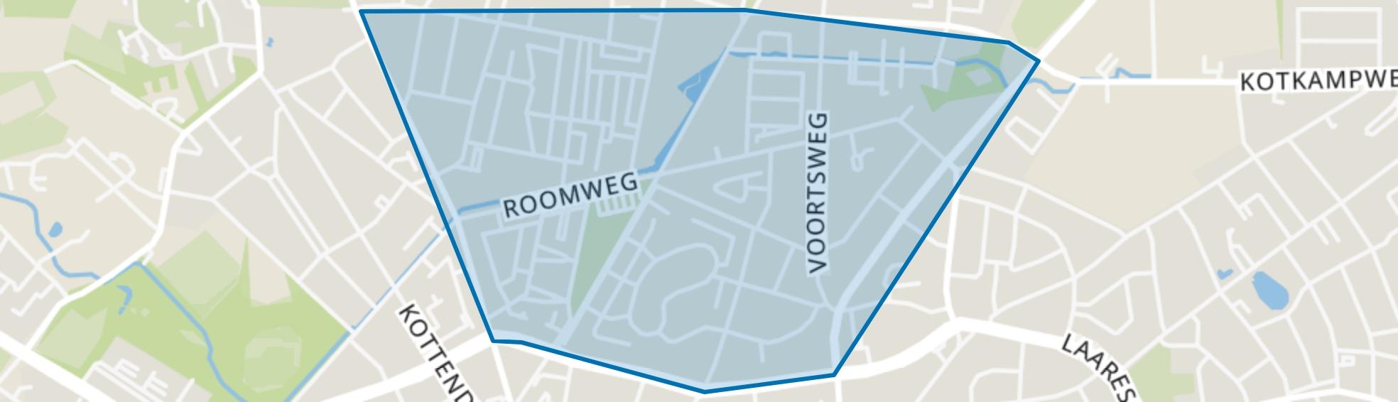 Roombeek-Roomveldje, Enschede map