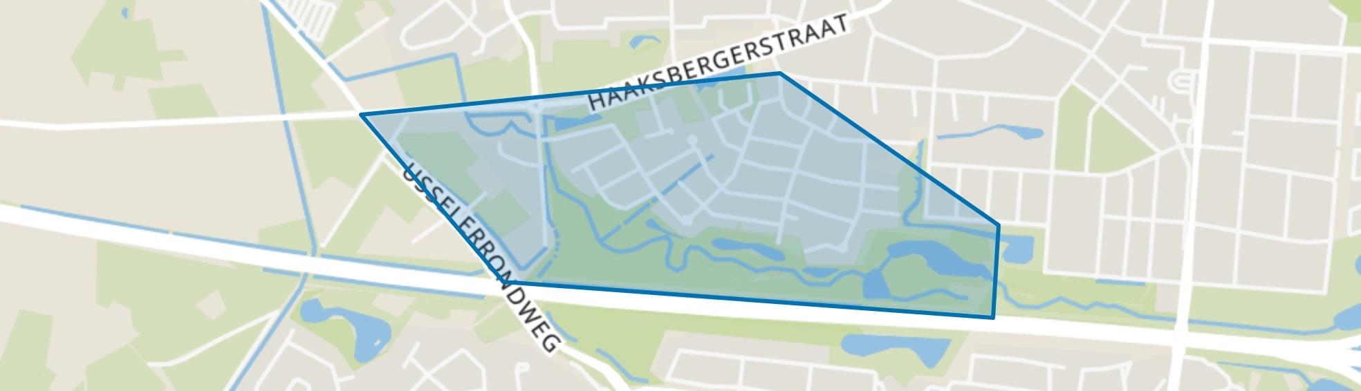 Ruwenbos, Enschede map