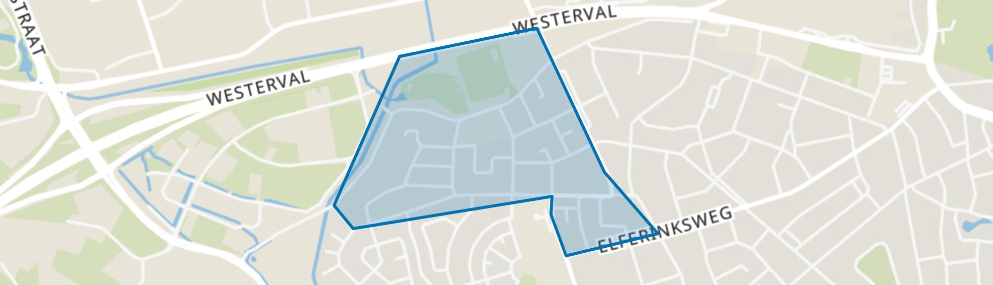Stadsveld-Noord-Bruggert, Enschede map