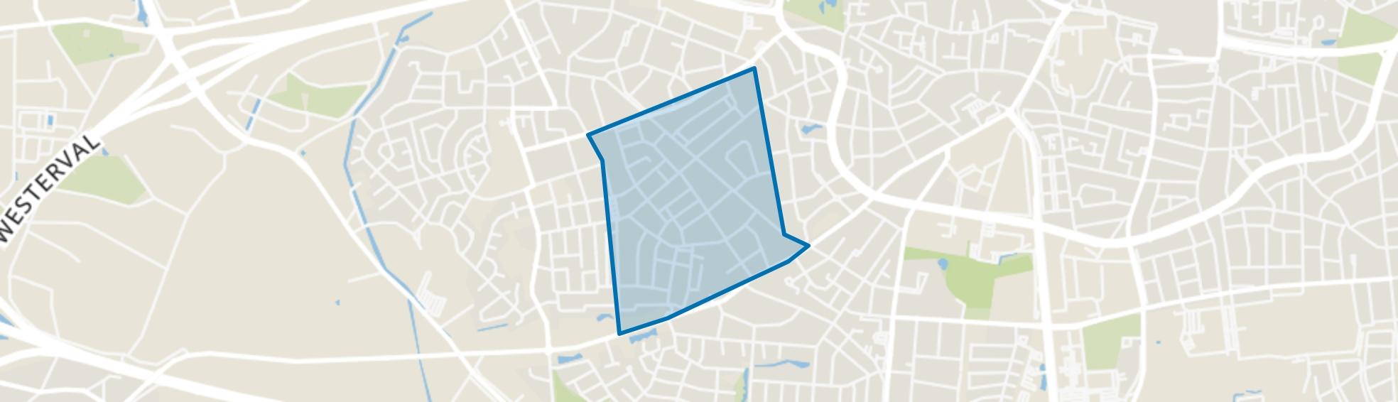 Stevenfenne, Enschede map