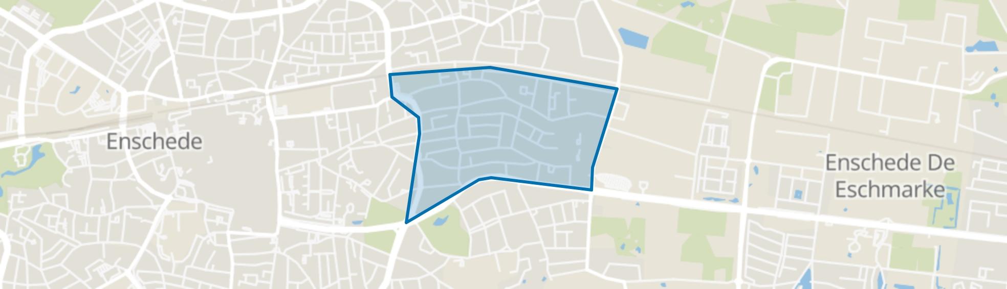 Velve-Lindenhof, Enschede map